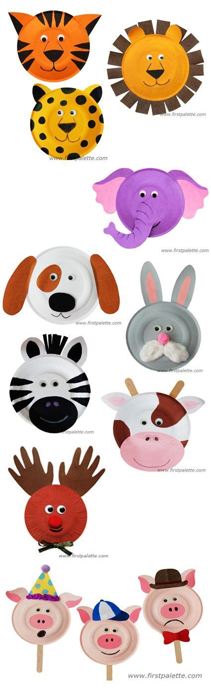 Animal Paper Plate Crafts - 14 best images about best out waste on piggy
