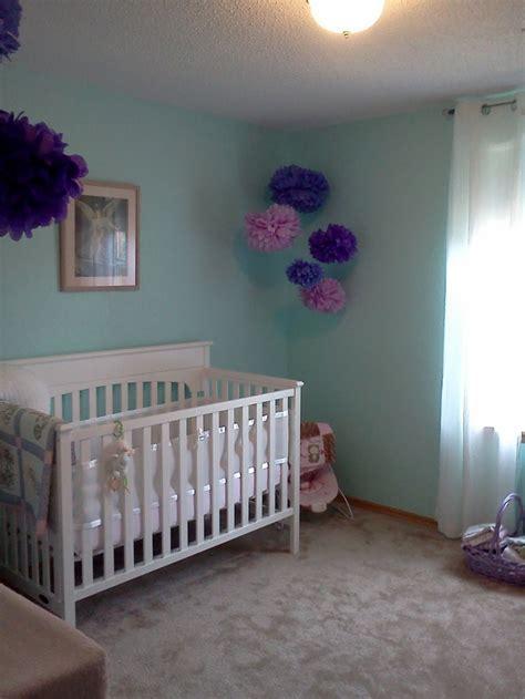 aqua and purple nursery bedrooms nurseries