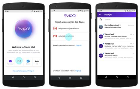 email yahoo mobile mobile distribution yahoo mail app partners