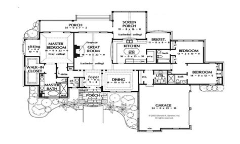 Bathroom Floor Plans Small one story luxury house plans best one story house plans