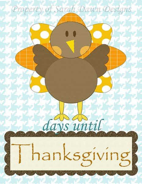 sarah dawn designs thanksgiving countdown printable