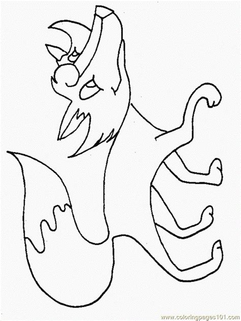 cartoon fox coloring page coloring pages fox cartoons gt fox free printable