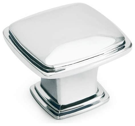 square chrome cabinet knobs polished chrome square cabinet knob traditional