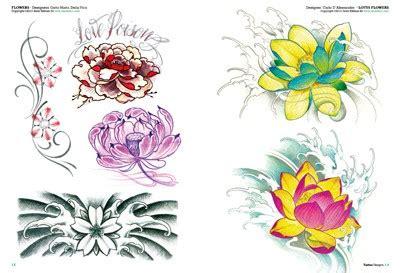idea fiori tatouages de fleurs 2