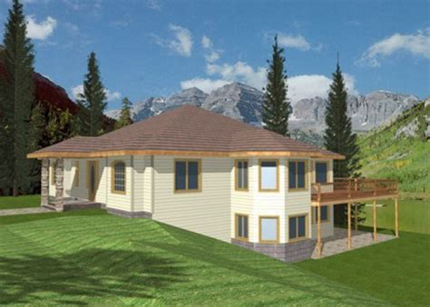 front sloping lot house plans melita sloping lot home plan 088d 0086 house plans and more