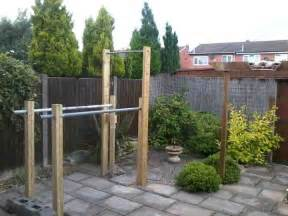 Backyard Parallel Bars How To Build A Homemade Outdoor Free Standing Pull Up Bar