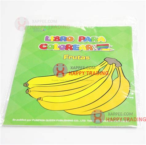 coloring book wholesale wholesale libro paper coloring book frutas for