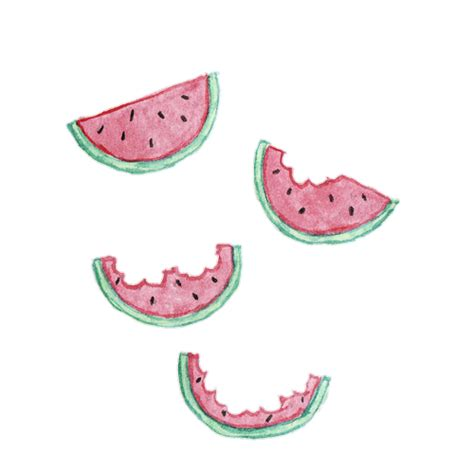 imagenes kawaii tumblr png watermelon overlay tumblr