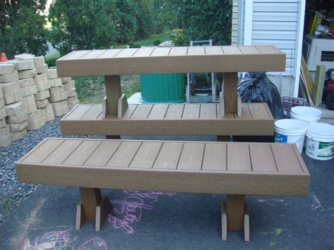 how to build a bench for a deck benches on decks room ornament