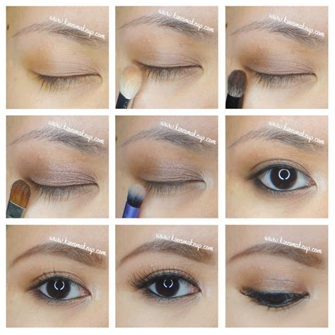 eyeshadow tutorial smashbox simple everyday makeup kirei makeup