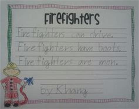 firefighter writing paper 1000 images about themes firefighters safety on