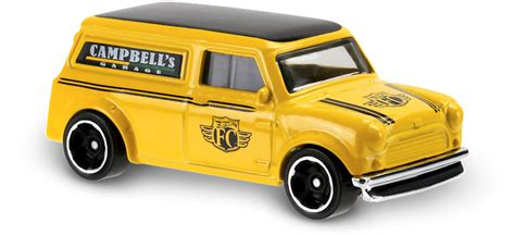 Hotwheels Mini 67 67 mini in amarillo hw city works car collector wheels