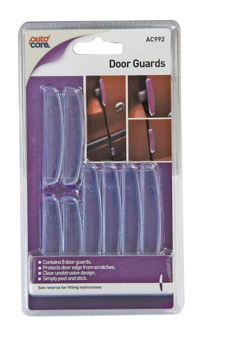 Clear Door Edge Guards by 8 X Autocare Car Door Edge Guards Clear Protector Peel And