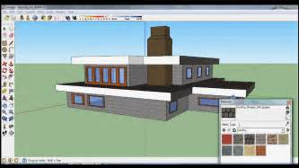 House Design Sketchup Youtube by Google Sketchup Speed Design Nice House Youtube