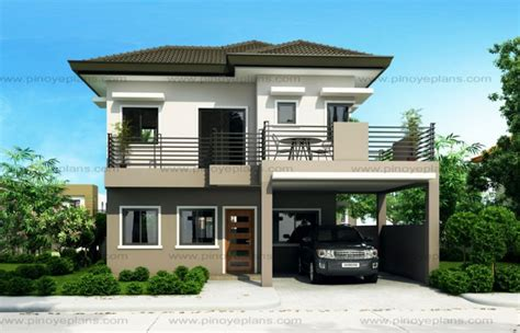 sheryl four bedroom two story house design eplans modern house designs small house