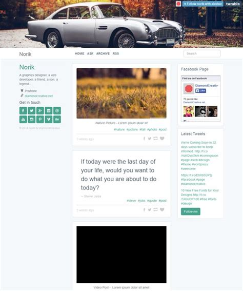 bootstrap themes integration 17 best images about 8 of the best bootstrap tumblr themes