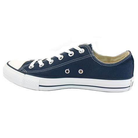 converse shoes converse all chuck ox navy unisex trainers