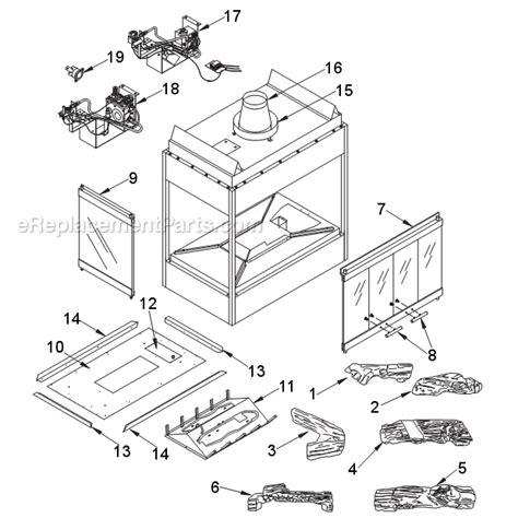 monessen 624bv parts list and diagram ereplacementparts