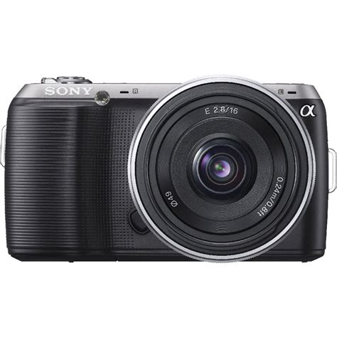 Digital Sony Lens sony alpha nex c3 digital with 16mm wide angle nexc3a b