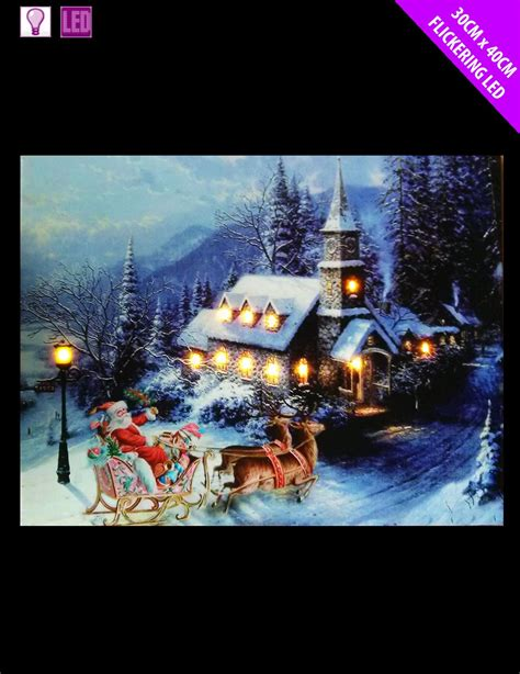 light up pictures led light up hanging canvas picture