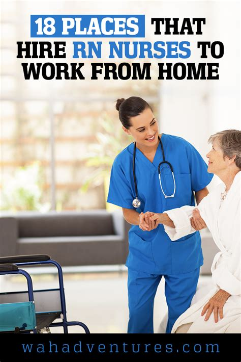 18 places that hire rn nurses to work from home