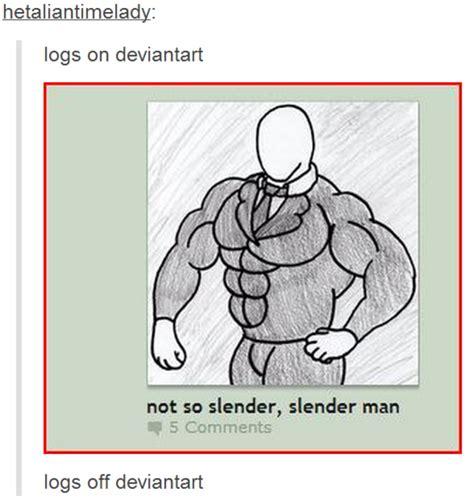 Slender Man Know Your Meme - not so slender slenderman slender man know your meme