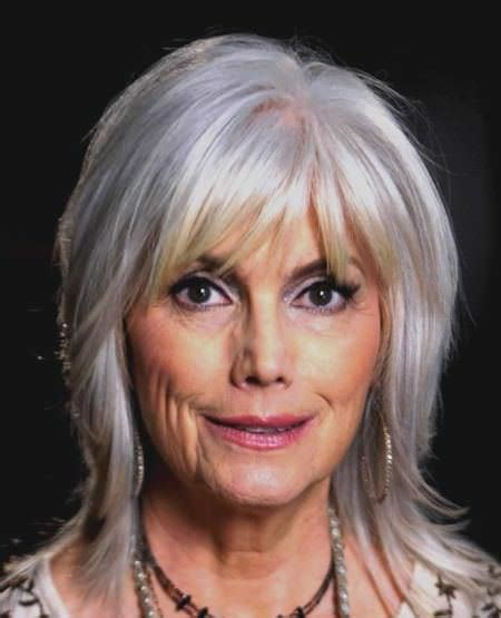 show side fring on long hair for older woman 20 classy hairstyles for older women