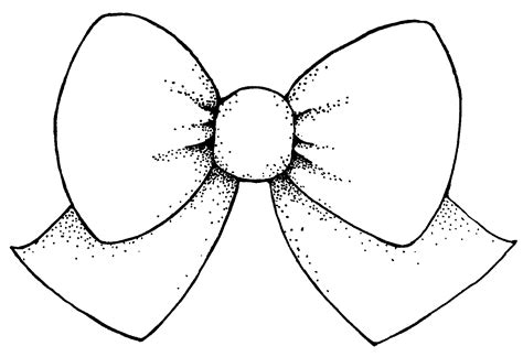 girl bow coloring page vector bow clipart best