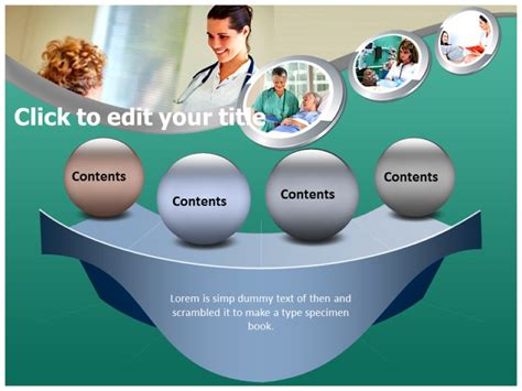 nurse powerpoint templates powerpoint presentation on