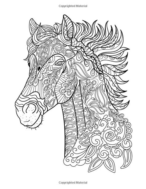 coloring book relaxation 333 best лошадь конь олень images on coloring