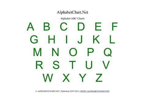 printable alphabet chart pdf alphabet chart printables for children download free a4