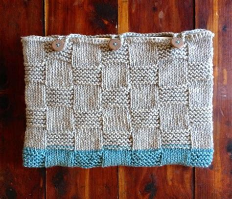 how to knit a laptop sleeve laptop sleeve basketweave knitting pattern