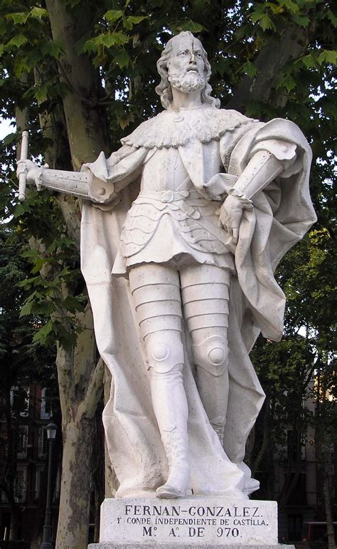 fernn gonzlez el estatuas reyes plona castilla portal fuenterrebollo