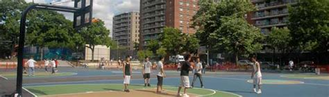 Basketball Court For Backyard Basketball Courts Nyc Parks