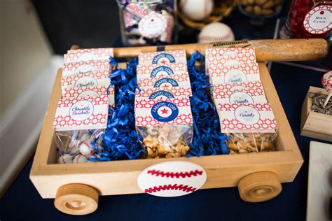 Baseball Themed Baby Shower by Lil Slugger Baseball Baby Shower The Couture Cakery