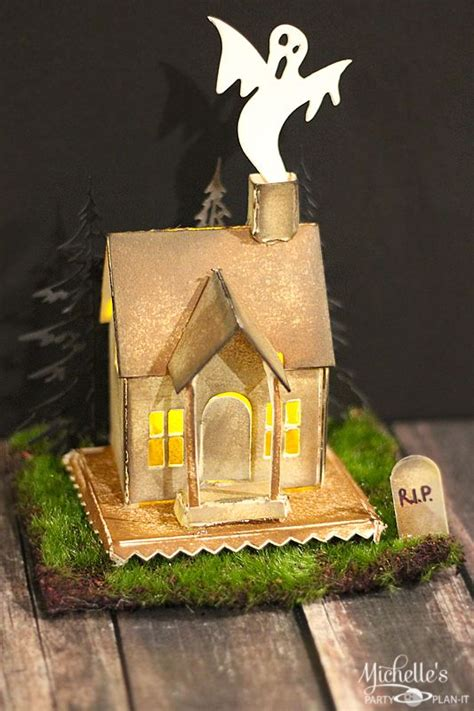 How To Make A Haunted House Out Of Paper - 21 best images about board on