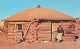 navajo homes postcard gems navajo indian