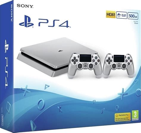 Playstation 4 Ps4 Slim 500gb Dualshock 4 sony playstation 4 slim silver 500gb dualshock 4 skroutz gr