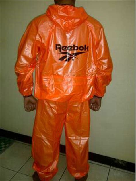 Jas Hujan Reebok Adidas Sauna Suit Harga Grosir Berkualitas jual jas hujan sauna suit reebok nike adidas