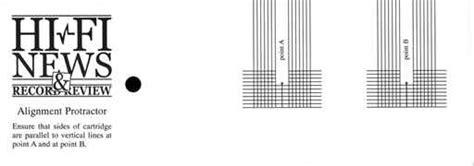 print rega protractor stylus alignment protractor bing images