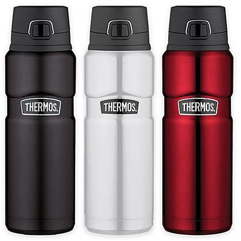 bed bath and beyond thermos thermos 174 stainless steel king 24 oz vacuum insulated