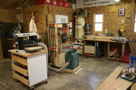 Small Home Wood Shops Take A Peek Inside My Shop Finewoodworking