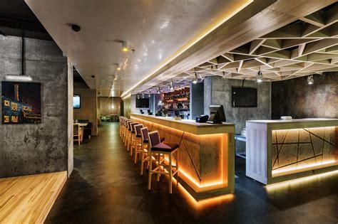 Restaurant Architecture Beton Cement Restaurant Architecture Style