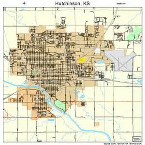 County For Hutchinson Ks Hutchinson Kansas Map 2033625