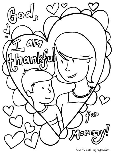 mothers day coloring sheets printable mothers day coloring pages realistic coloring