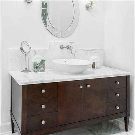 Oval Bathroom Vanity Brown Footed Bathroom Vanity Round Oval Mirrors For Bathroom Vanities