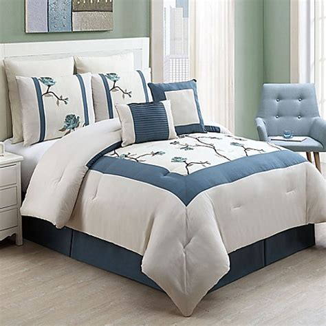 Bed Bath And Beyond Comforter Sets by Vcny Trousdale 8 Comforter Set Bed Bath Beyond