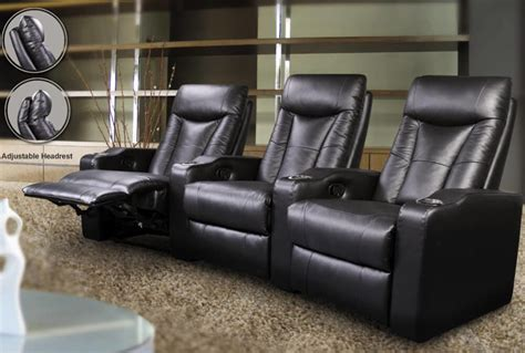 top  types  home theater recliners  chairs