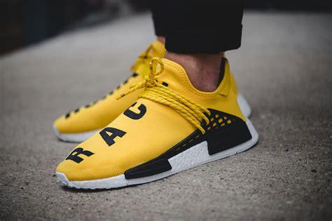Sepatu Adidas Nmd Human Race Yellow pharrell adidas nmd human race release date sneaker bar detroit