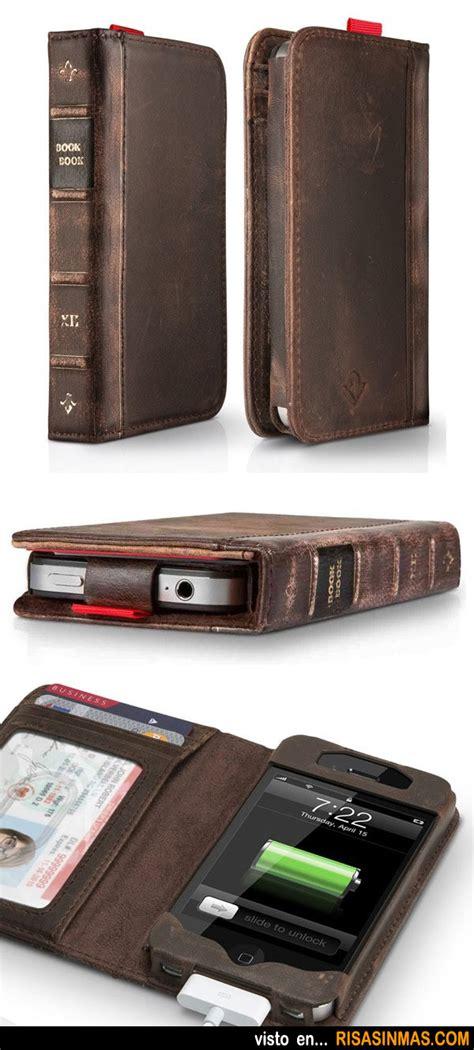 libro phdon funda cartera libro antiguo para iphone